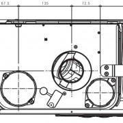 Базовый размер для подключения коаксильного дымохода котла Beretta City