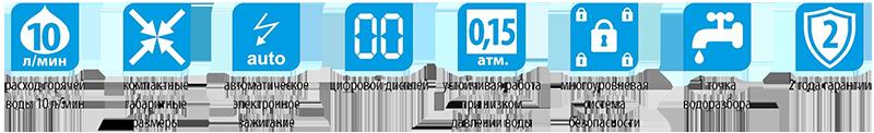 Технические характеристики водонагревателя 4510 М