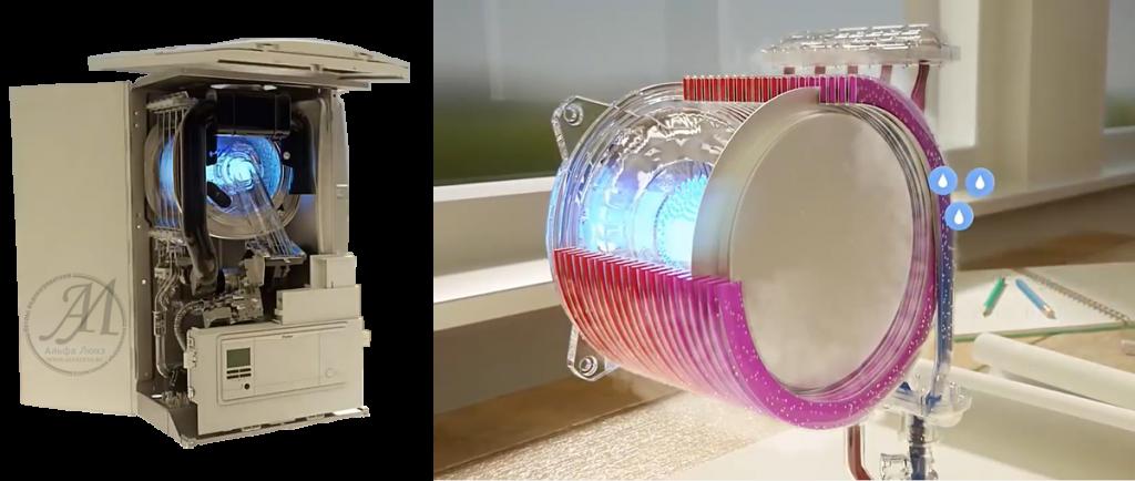 Теплообменник конденсационного котла