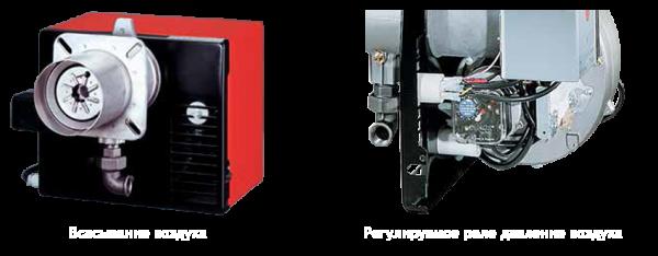 Блок вентиляции газовой горелки Riello 40 GS