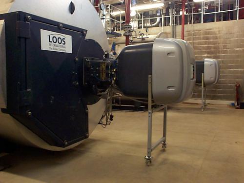 Двухтопливные горелки   серии Modubloc MB установленные на ликероводочном заводе и  используемые на паровых котлах. Каждый котел генерирует около 10 тонн пара в час для использования в процессе производства. Все форсированные горелки Modubloc имеют полный контроль модуляции с регулировкой расхода воздуха и топлива отдельными электронными сервомоторами. Это позволяет точно контролировать скорость горения горелки, оптимизируя общую эффективность.