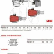 Размеры горелок Riello RS 1000-1200 M-BLU