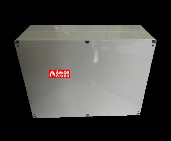 Блок управления каскадом котлов RVS 63 (вид сзади)