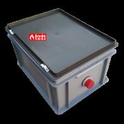 Нейтрализатор конденсата N2 Beretta-Riello 4031810 для конденсационного котла отопления (вид сбоку)