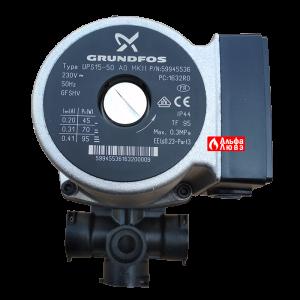 Циркуляционный насос Grundfos UPS15-50 A0 MK11, PN 59945536. Beretta 20002906 Riello - 4366433