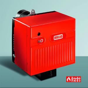 Мазутная одноступенчатая горелка Riello 40 N мощностью от 34 до 217 кВт