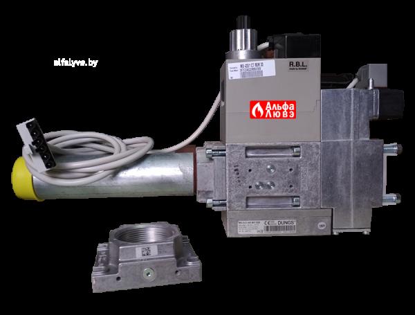 Газовая рампа (газовый мультиблок) Riello MB 420-1 CT RSM 30, размер 2 дюйма, артикул — 3970234 (боковой)
