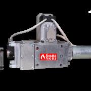 Газовая рампа (газовый мультиблок) Riello MB 420-1 CT RSM 30, размер 2 дюйма, артикул — 3970234 (вид сбоку)