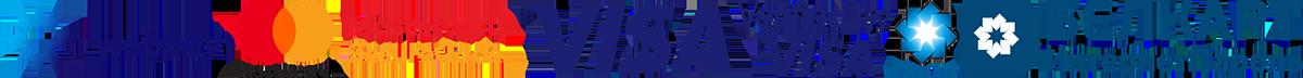 Логотип оплаты платежными системами WebPay, Mastercard, Visa, Белкарт