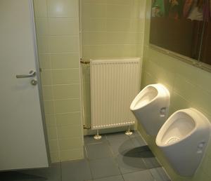 Батарея Корад установлена в санитарном узле