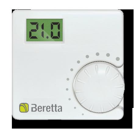 Комнатный термостат, датчик комнатной температуры для котла Beretta (20059639, 20059641)