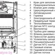 Внутреннее устройство котла Beretta CIAO-28CSI