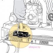 Подсоединение термостата помещения к котлу Chaffoteaux Alixia S