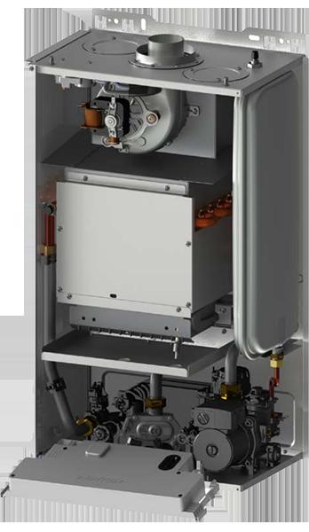 Внутренне устройство котла BaltGaz Turbo