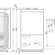 Габаритные размеры Bosch WST 120 RO