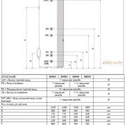 Гидравлические подключения бойлера Beretta Riello 7200 V