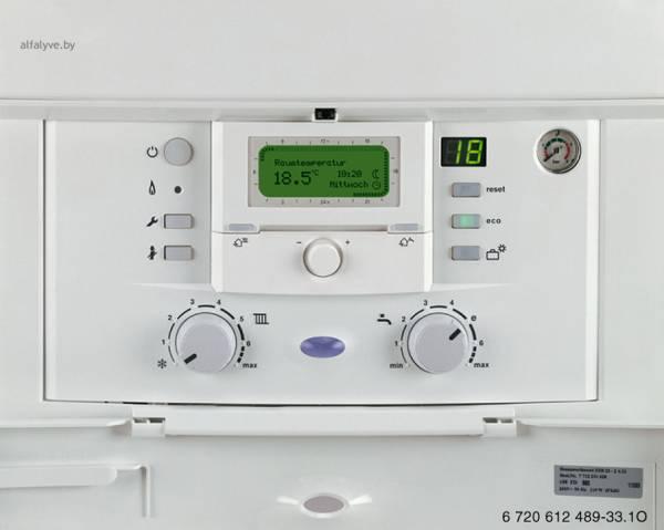 Heatronic 3 со встроенным регулятором, работающий по наружной температуре Bosch Condens 3000 W