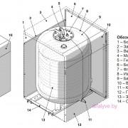 Компоненты бойлера-аккумулятора косвенного нагрева Beretta Aquaplus