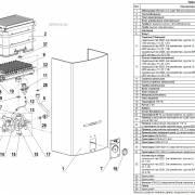Компоненты колонки Neva 5514