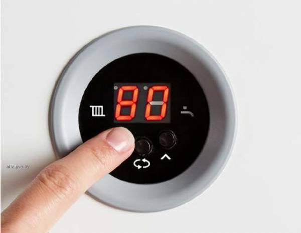 Панель управления электрического котла Bosch Tronic Heat 3000-3500