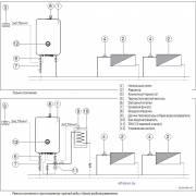Примеры отопительной системы Bosch Tronic Heat 3000-3500