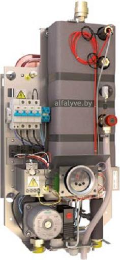 Внутреннее устройство электрического котла Bosch Tronic Heat 3500