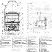 Внутреннее устройство и функциональная схема водонагревателя Neva 4513 M