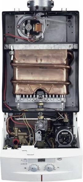 Внутреннее устройство котла Bosch 3000 W