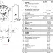 Взрывная схема колонки Neva 4508 и Neva 4510