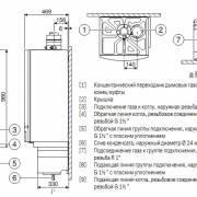Габаритные размеры Bosch Condens 5000 W