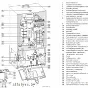 Компоненты котла Bosch 7000 ZBR