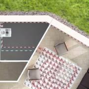 Котел Chaffoteaux обеспечивает горячей водой все точки водозабора в доме