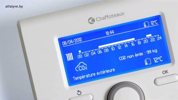 Показывает текущий уровень выброса CO2