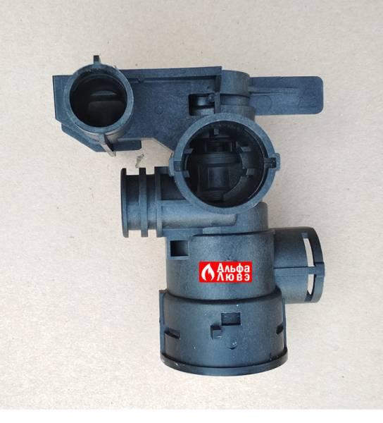 Трехходовой клапан Beretta 20021496 на котел Beretta City, Exclusive, Mynute (вид сбоку)
