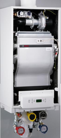 Внутреннее устройство котла Bosch Condens 5000 W