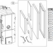 Комплект поставки котла Bosch Solid 3000 H