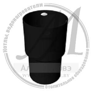 Переходник дымохода жесткий - гибкий (муфта)