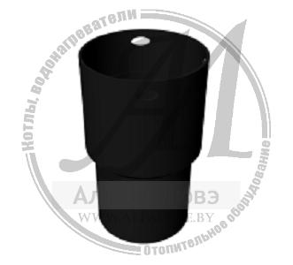 Переходник дымохода жесткий — гибкий (муфта)