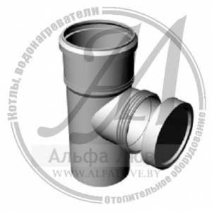 Элемент ревизионный резьбовой для системы дымоудаления конденсационного котла