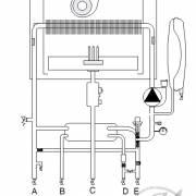 Гидравлическая схема котла Chaffoteaux Alixia Ultra
