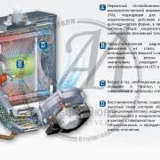 Схема работы конденсационного котла Sime