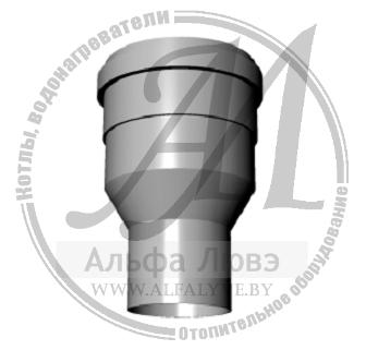 Адаптер для системы дымоудаления конденсационного котла