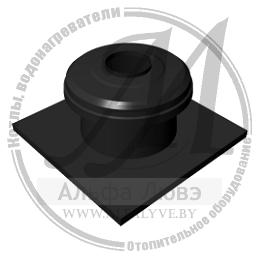 Концевой элемент дымохода для системы дымоудаления конденсационного котла