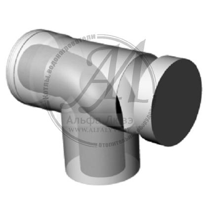 Ревизионное колено 87° коаксиальное