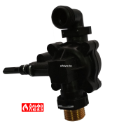 Водяной узел 4211-02-300 на водонагреватель Neva (вид снизу)