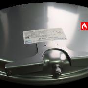 Бак расширительный R2204 для газового котла Beretta (фронтально)