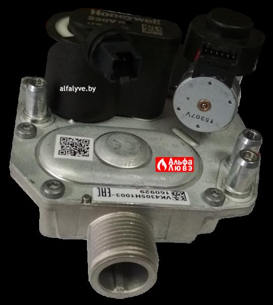 Газовый узел (регулятор) Atmix VK4305H1005 на котел BaltGaz Turbo (верхняя часть сбоку)