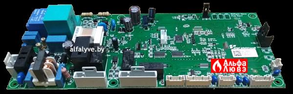 Плата управления Aurora S4962DM3250 (2-ая модификация) на газовый котел Baltgaz Turbo (Вид сбоку)