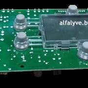 Плата управления Aurora S4962DM3250 на газовый котел Baltgaz Turbo (Вид снизу)
