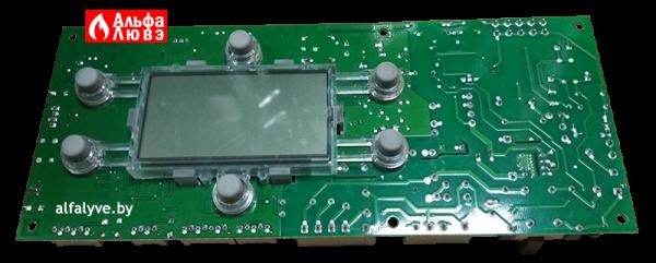 Плата управления Aurora S4962DM3250 на газовый котел Baltgaz Turbo (Вид снизу слева)